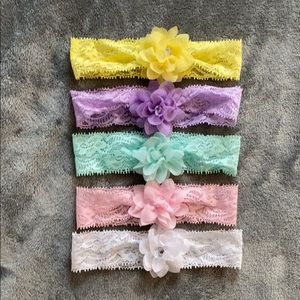 Other - 5 Lace Headbands